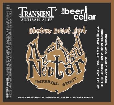 2020 Transient Neckbeard Nectar Blanton's Barrel 500mL