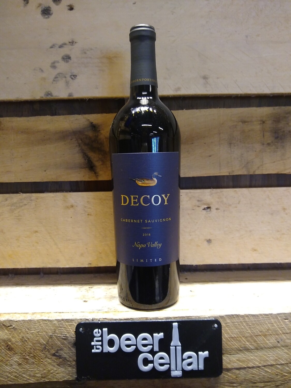 Decoy Cabernet Sauvignon Napa Limited 2018 750mL