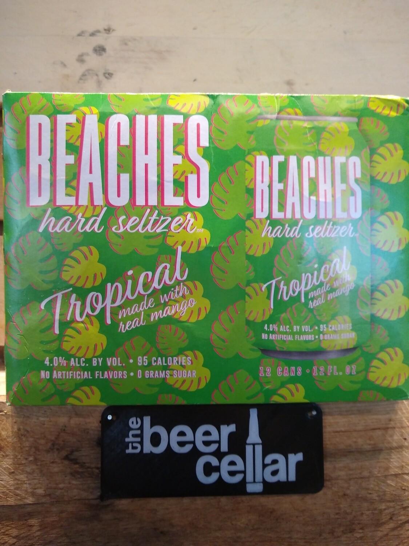 Beaches Tropical Hard Seltzer 12pk