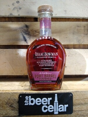 Isaac Bowman Port Barrel Finished Bourbon 750mL