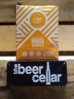 Miami Cocktails Mimosa Spritz 4pk cans
