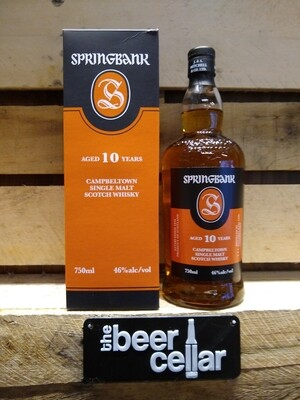 Springbank 10 Year Scotch 750mL