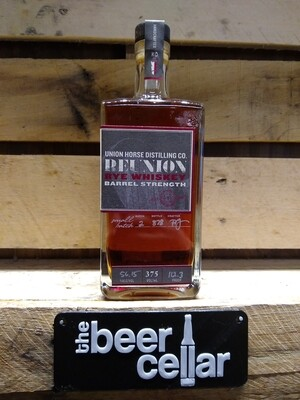 Union Horse Barrel Strength Rye 375mL