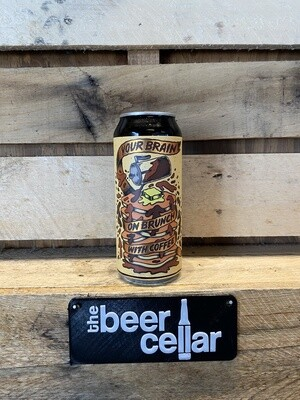 Pipeworks Your Brain on Brunch with Coffee single 16oz can