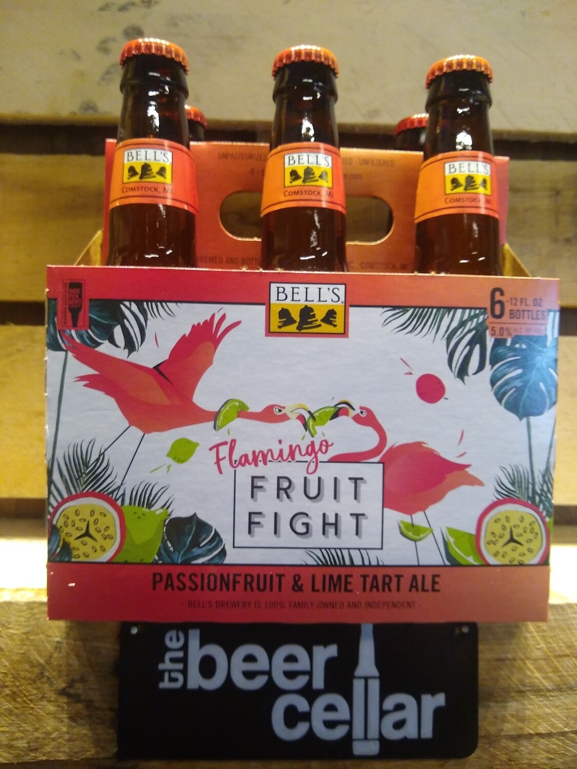 Bells Flamingo Fruit Fight 6pk