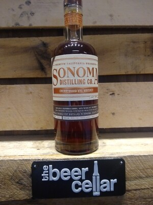 Sonoma Cherrywood Rye Whiskey 750mL
