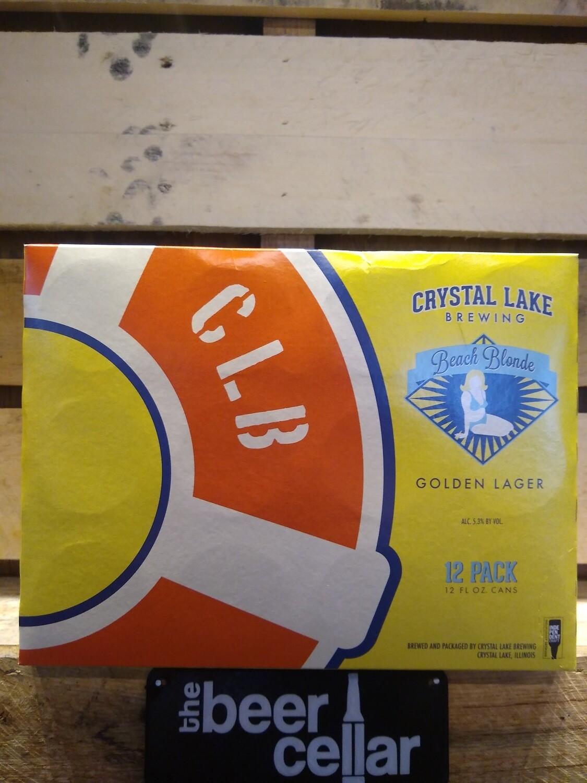 Crystal Lake Beach Blonde 12pk cans