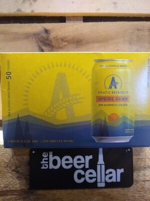 Athletic Brewing Upside Dawn NA Golden Ale 6pk