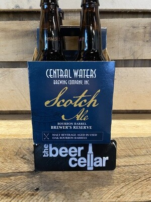 Central Waters Barrel Aged Scotch Ale 4pk