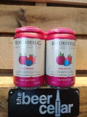 Rekorderlig Wild Berries Cider 4pk