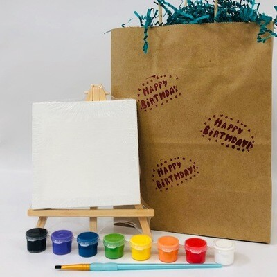 Mini Easel Birthday Bag