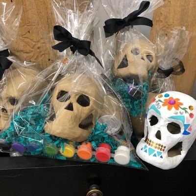 Halloween Skull Craft Pack