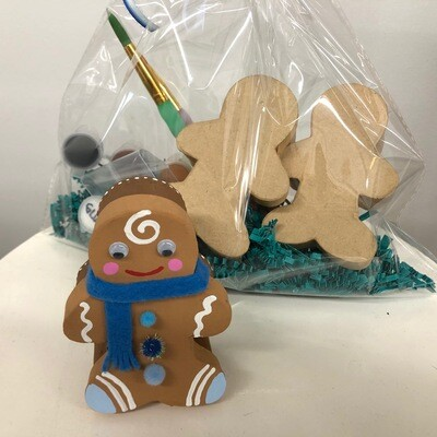 Gingerbread Man Boxes Craft Pack