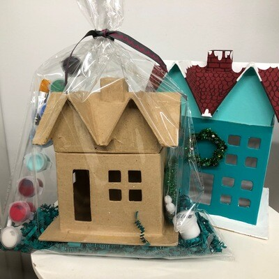 Winter House Craft Pack