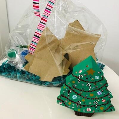 Tree & Star Box Craft Pack