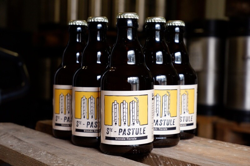 carton 24x STE-PASTULE, blonde 33cl. 5% vol.