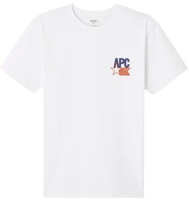 T-SHIRT A.P.C USA     MARCELLUS