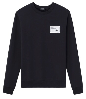 SWEAT A.P.C NOIR   NEIL