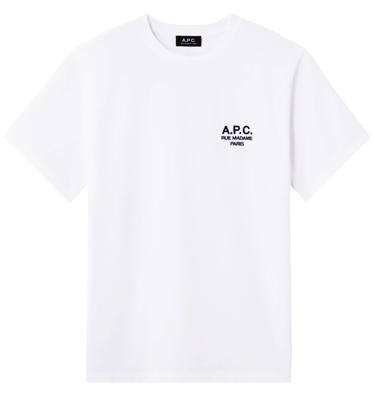 T-SHIRT A.P.C RAYMOND WHITE