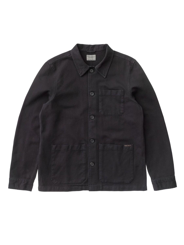 VESTE NUDIE JEANS Barney Worker Jacket Black