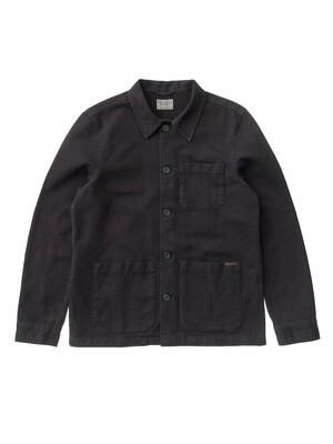VESTE NUDIE JEANS Barney Worker Jacket Black