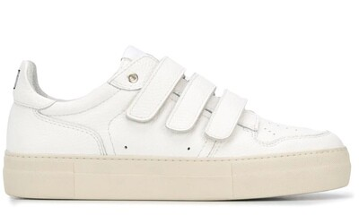 SNEAKERS A SCRATCH AMI BLANCHE