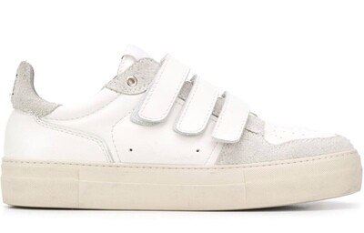 SNEAKERS A SCRATCH AMI BLANCHE/GRIS