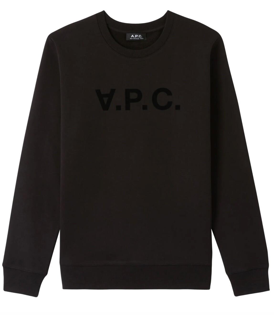 SWEAT A.P.C black