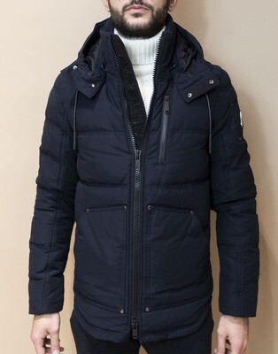 PARKA MOOSE KNUCKLES HUMBER NAVY