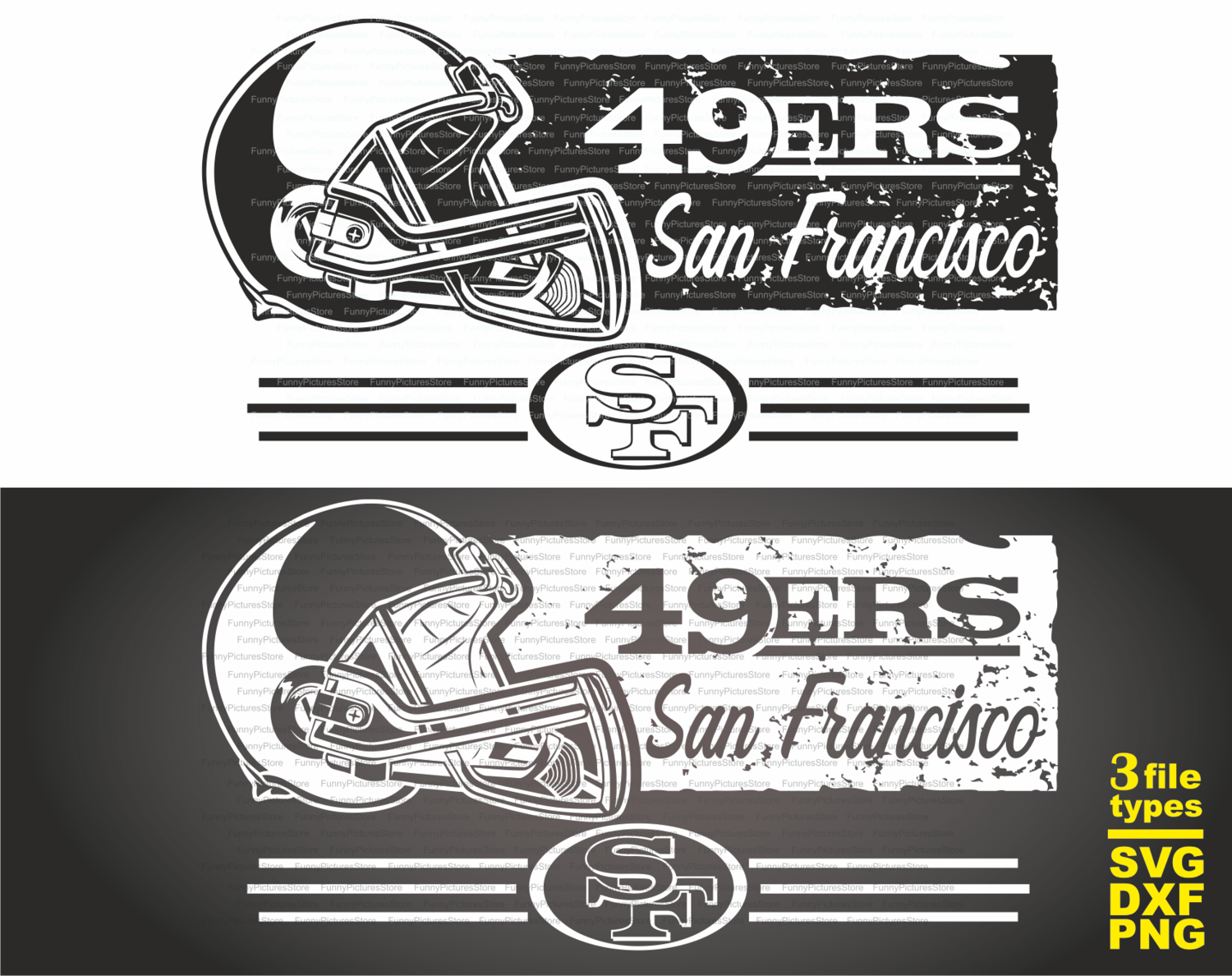 Print For T Shirt San Francisco 49 Ers Football Svg Svg Files For Cricut Instant Download Football Clipart 49 Ers Cricut American Football Svg T Shirt For A Fan Raiders 49 Ers Svg