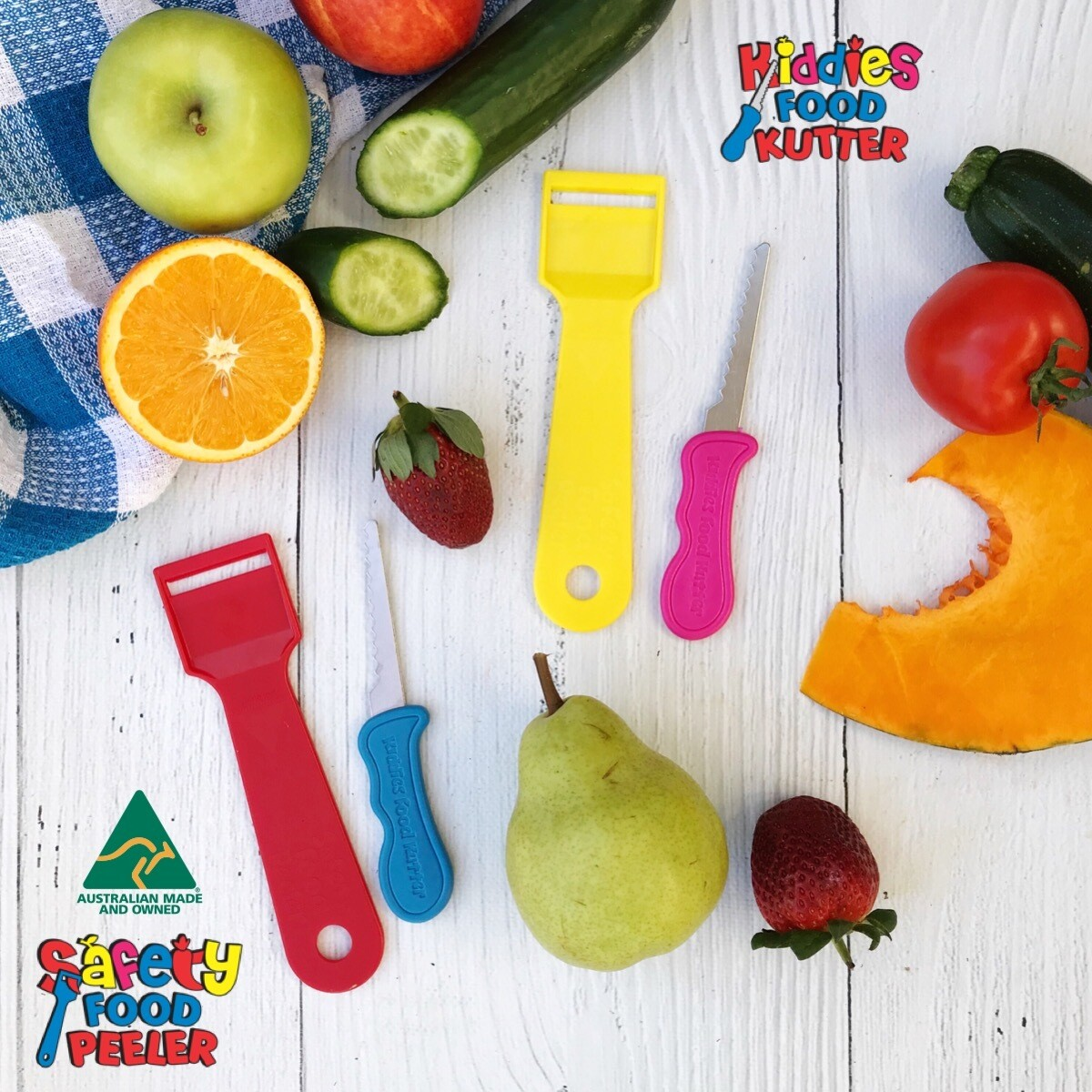 Kiddies Food Kutter - 2 PACK