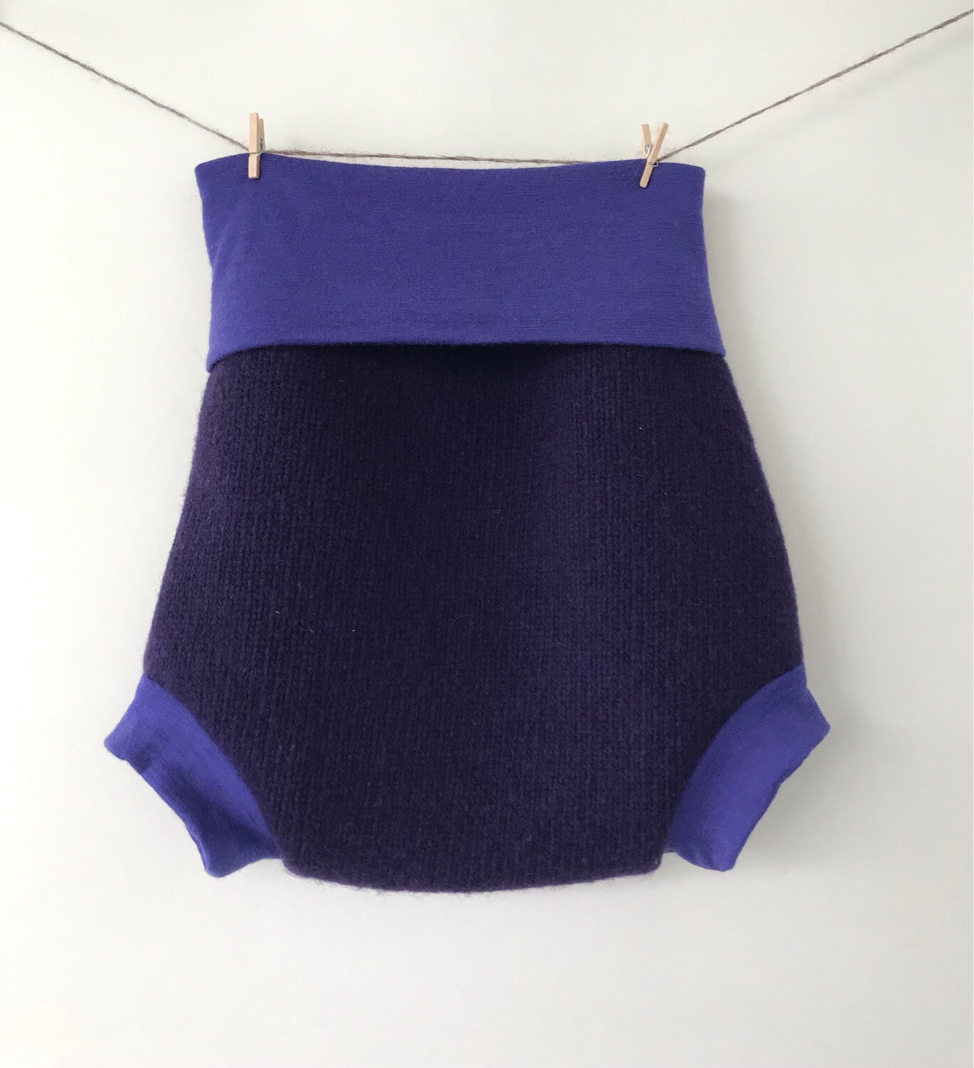 Wool Nappy Cover 12-24M+