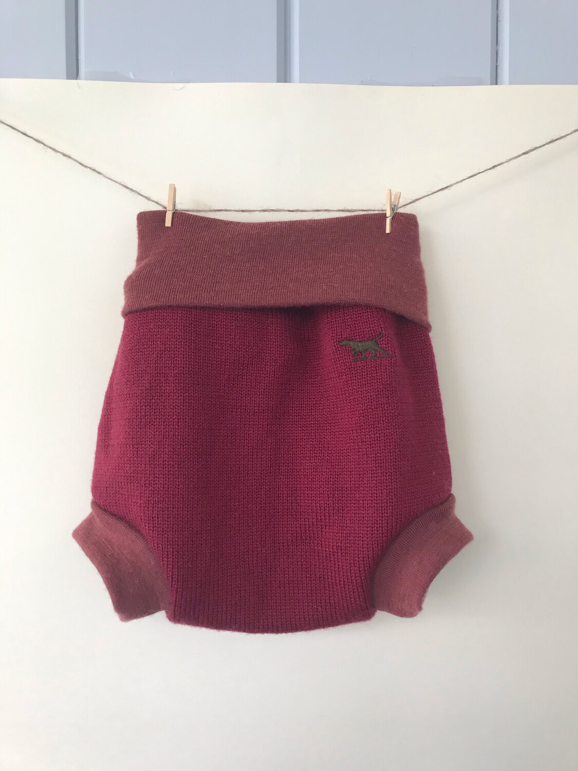Wool Nappy Cover 6-12M+