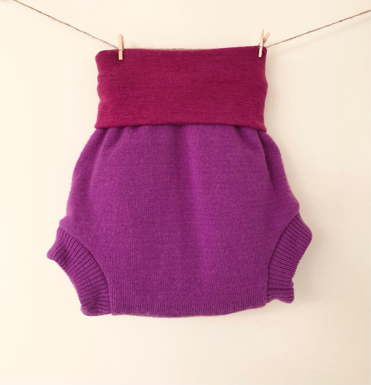 Wool Nappy Cover 12-24M