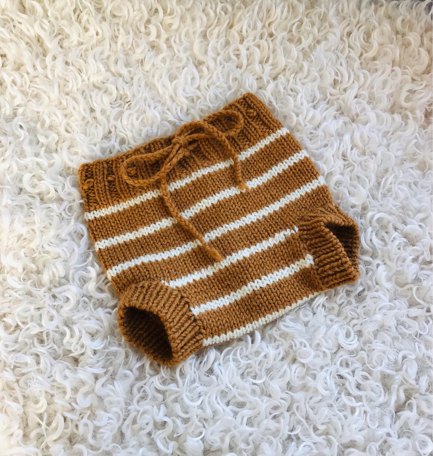 Hand Knitted Wool Cover
