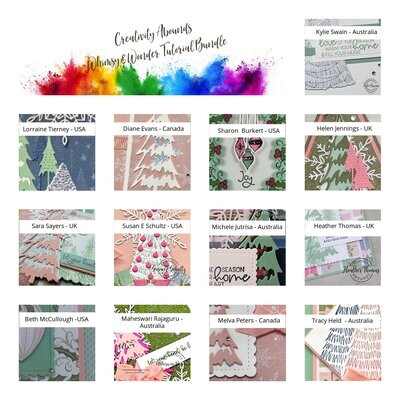 Whimsy and Wonder Tutorial Bundle