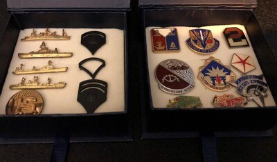 Military Pins Set for the Collector