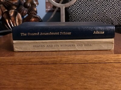 2nd Amendment Primer (collectible) and Religious book