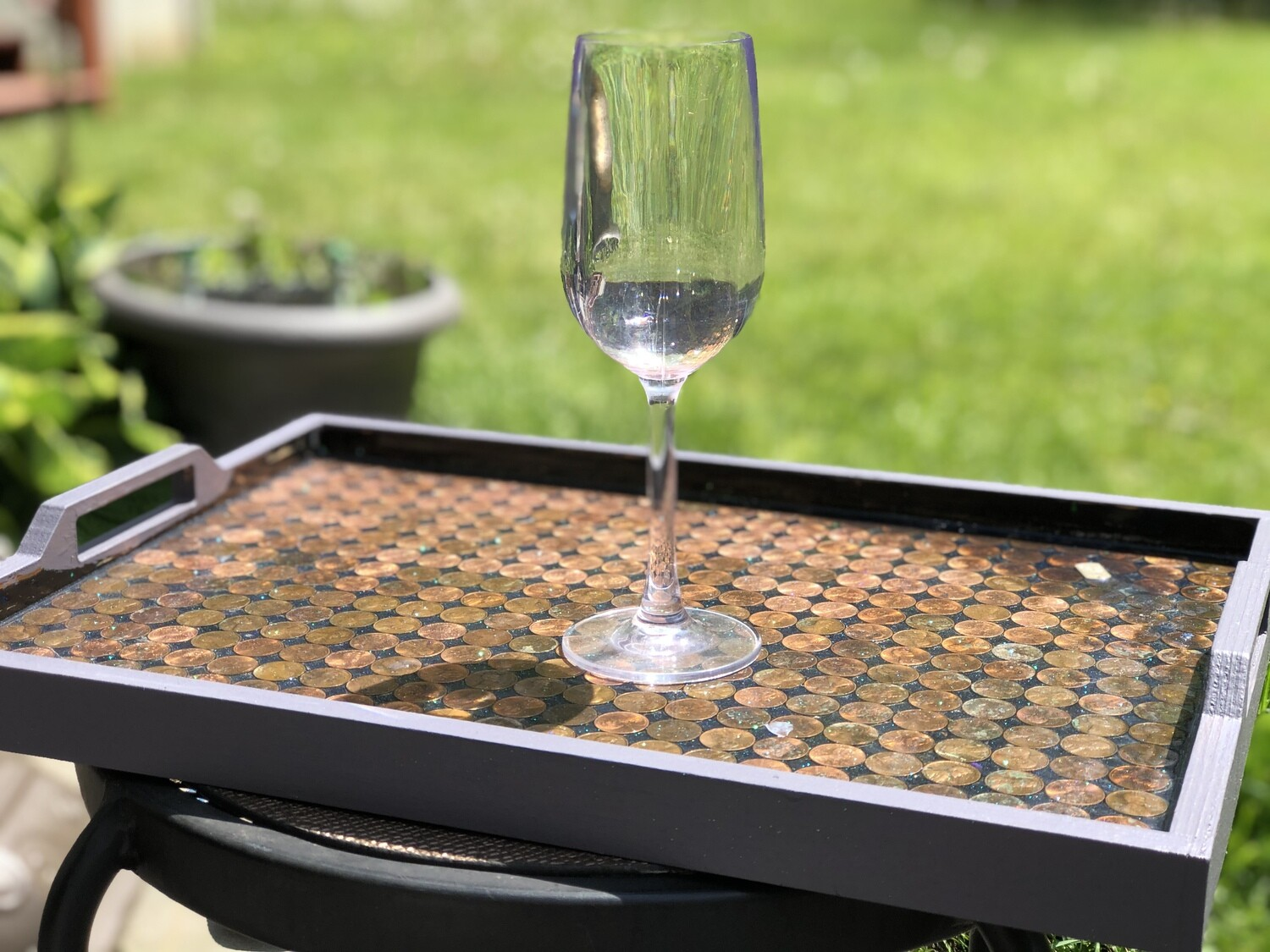 Penny Serving Tray - **Handcrafted**