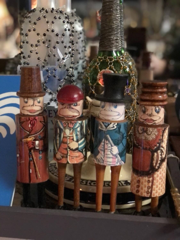 Artists Prototype: Christmas Villagers
