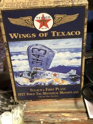 Wheels of Texaco - Die Cast Monoplane
