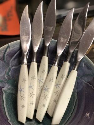 MCM Mode Danish Steak Knives - Set of 6