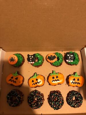 Halloween Dinky Donuts