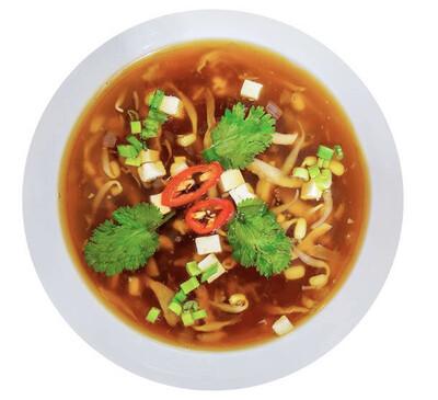 Китайский овощной суп чжоу шеньчжэнь