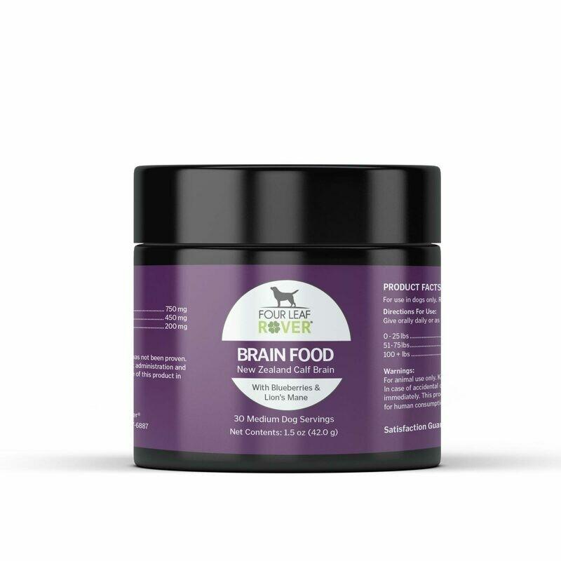 BRAIN FOOD - Bovine Brain for Dogs