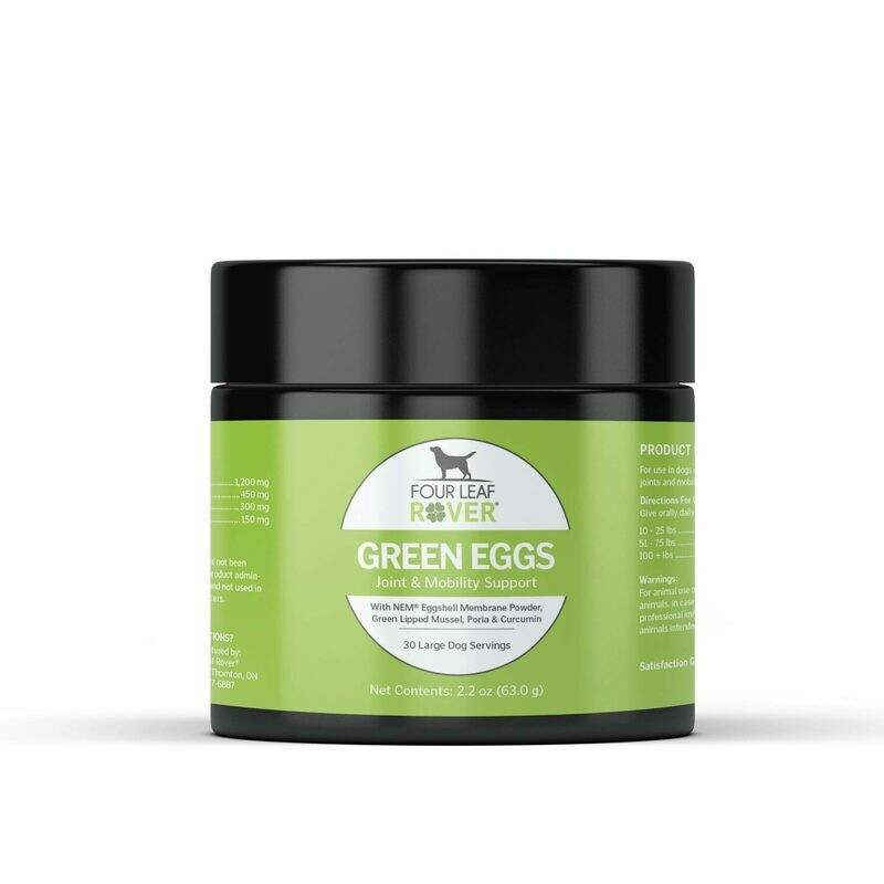 GREEN EGGS- Natural Joint Support