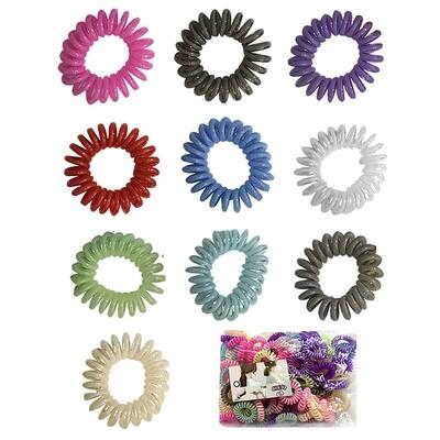 Σπιράλ μαλλιών χρωματιστά  1 ΤΜΧ
