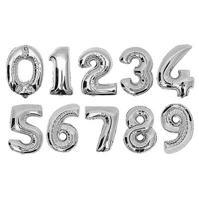 Μπαλόνια γενεθλίων αριθμοί 75Χ50εκ χρυσά