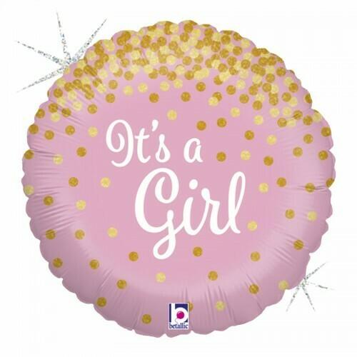 """Μπαλόνι Foil 18"""" It's a girl"""