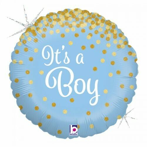 """Μπαλόνι Foil 18"""" It's a boy"""